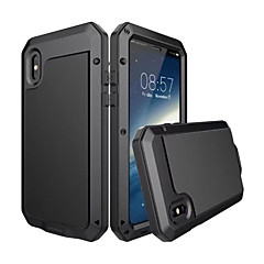 Til iPhone X iPhone 8 Plus Etuier Vand / Dirt / Shock Proof Heldækkende Etui Rustning Hårdt Metal for Apple iPhone X iPhone 8 Plus iPhone