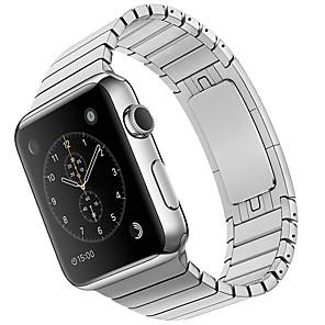 Horlogeband voor Apple Watch Series 4/3/2/1 Apple Klassieke gesp Metaal / Roestvrij staal Polsband