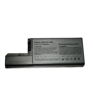substituição da bateria do laptop dell latitude gsd0821 para d531/d531n/d820