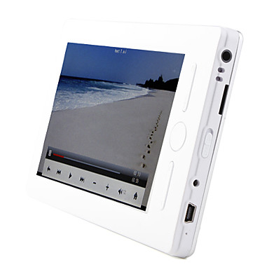 "5 ""pantalla táctil lector de libros electrónicos HD Media Player - Grabador de pdf/txt/video/mp3/fm/voice"