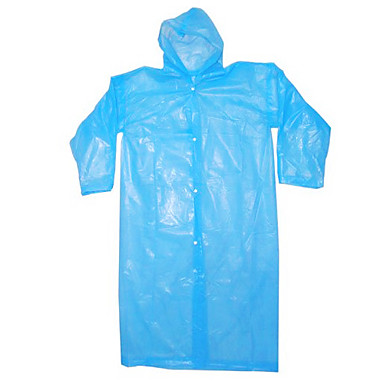 Disposable Plastic Raincoat