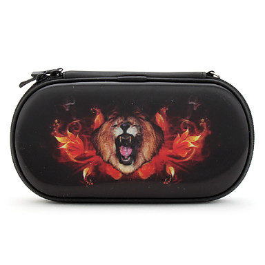 Protective 3D Lion Case for PS Vita (Black)