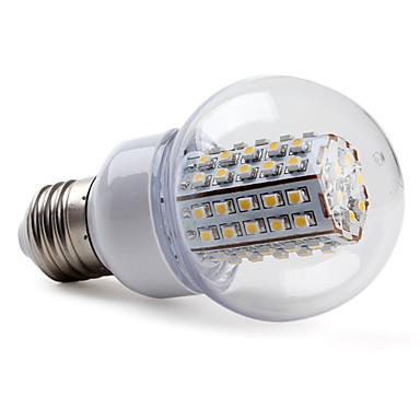 5W E26/E27 Lampadine globo LED G60 66 SMD 3528 430 lm Bianco caldo AC 220-240 V del 319514 2017 ...