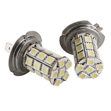 H7 27 5050 smd witte led auto signaallamp 361107 2017 for Led autolampen