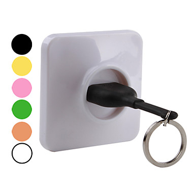 Living Styles Home Wall Decoration Unplug Keyring Key Ring