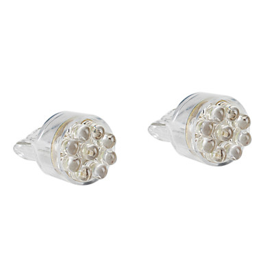 t20/7443 9-led lampadina bianca per freni auto / lampade di segnalazione di s...