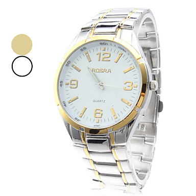 Men's Watch Dress watch Simple Design Alloy Band Wrist Watch Cool Watch Unique Watch