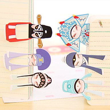 7pcs Stationery Opera Classic Style Paper Bookmarks Decoration Gift New JL