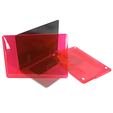 "Enkay Case for Macbook Pro 13.3""/15.4"" with Retina display Solid Color Plastic Material Transparent Crystal Hard Case"