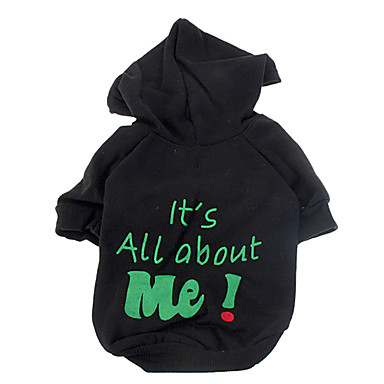 Its All About Me Pattern Warm Hoody Coat for Pets Dogs (Assorted Colors, Sizes)