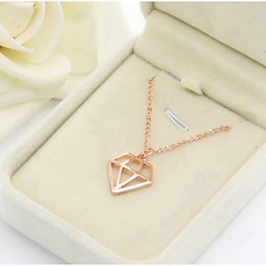 Ketting diamant hanger