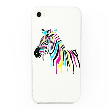 Colorful Zebra Pattern Case for iPhone 4/4S 1436099 2017 ...