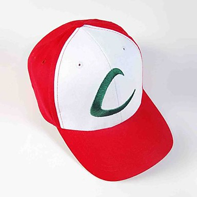 Hat/Cap Inspired by Pocket Little Monster Ash Ketchum Anime Cosplay Accessories Cap Hat Red Male Female