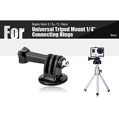 universal tripod mount 1 4 aansluiting scharnier voor. Black Bedroom Furniture Sets. Home Design Ideas
