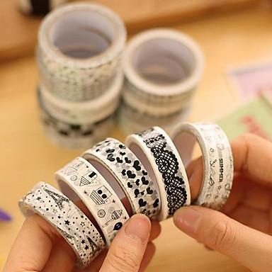 black and white decorative tape random color 1 pcs 1774838 2017