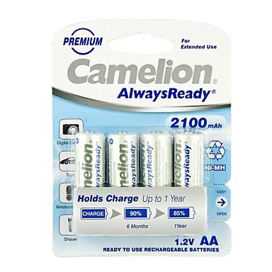 Аккумуляторы Camelion AlwaysReady 2100mAh Ni-MH AA
