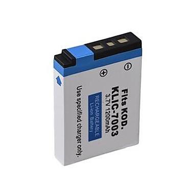 1200mAh Camera Battery Pack for KODAK KLIC-7003