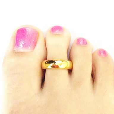 jewelry toe rings gold plated others unique design