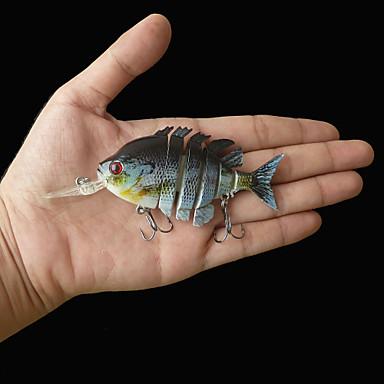 New 4 inches 14 grams floating bluegill swimbait crankbait for Bluegill fishing bait