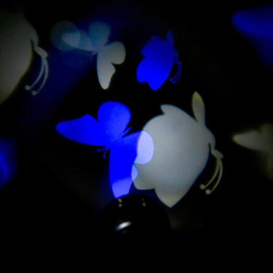blaue wei e schmetterling ul adapter laserlicht projektor wasserdichte dekoration strahler. Black Bedroom Furniture Sets. Home Design Ideas