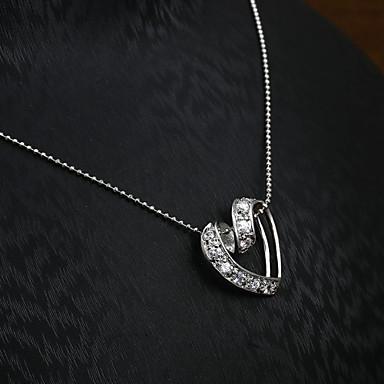 Europäische und amerikanische Mode Diamant-Anhänger Halskette Series 15 Hochzeit / Party / Täglich / Casual 1pc