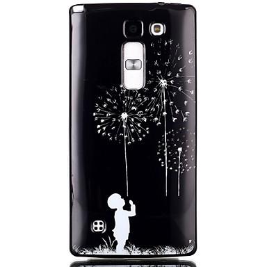 Dandelion Pattern TPU Phone Case LG Leon H340N/LG Spirit H422/Magna H502