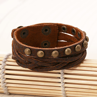 Copper rivets leather cutting belt bracelets 4738008 2017 for Rivets for leather jewelry