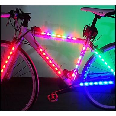 eclairage de v lo bicyclette eclairage s curit v lo ecarteur de danger clairage pour roues. Black Bedroom Furniture Sets. Home Design Ideas