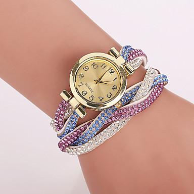 femme montre tendance bracelet de montre quartz imitation. Black Bedroom Furniture Sets. Home Design Ideas