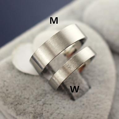Новый продукт титана стальное кольцо Пара Кольца венчания / партии / Daily / вскользь 1шт