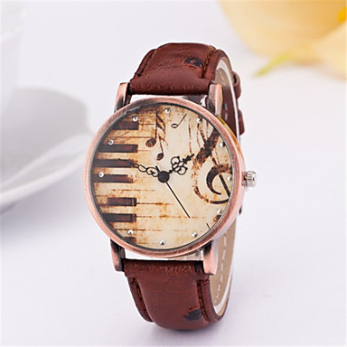 Мода Кожаный ремешок Unisex Кварцевые аналоговые наручные часы (разных цветов)
