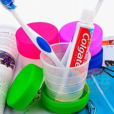 Travel Toiletries Foldable Plastic