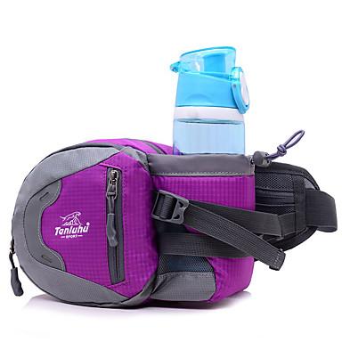 2.5 L Waist Bag/Waistpack Camping & Hiking Traveling Outdoor Multifunctional Yellow Nylon