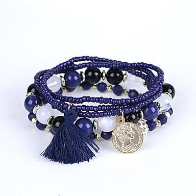 homme femme couple bracelets de rive bracelet mode perl multicouches bijoux de luxe bijoux de. Black Bedroom Furniture Sets. Home Design Ideas