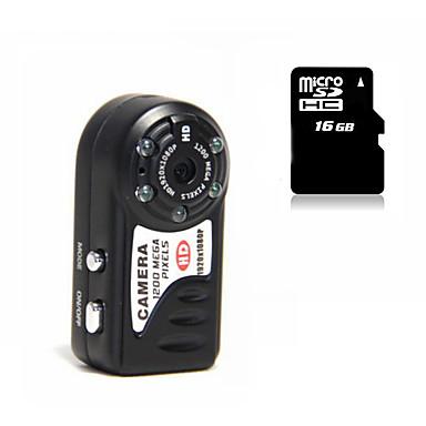 Mini Camcorder HY8000 1080P Camera Night Version 16G MicroSD