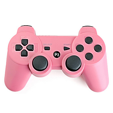 Rechargeable USB Wireless Controller for PS3 (Pink)