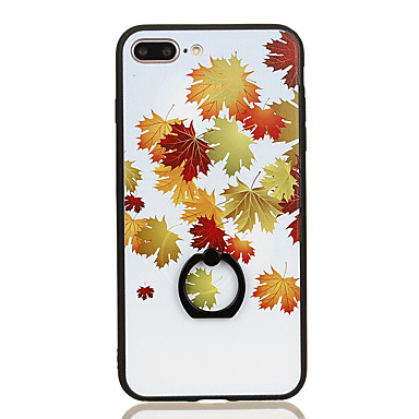 For Ring Holder Pattern Case Back Cover Case Tree Hard PC for Apple iPhone 7 Plus iPhone 7