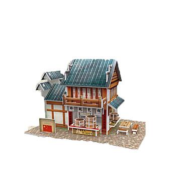 Puzzles puzzles 3d blocs de construction jouets diy for Jeu d architecture 3d