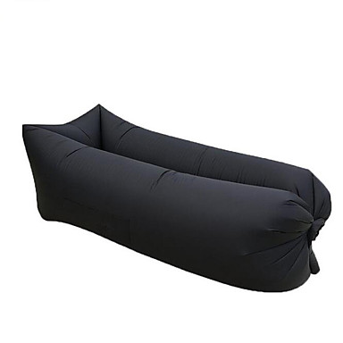 Outdoor Rapid Inflatable Portable Air Beach Bed Camping Sofa Banana Sleeping Bag Beanbag Lazy
