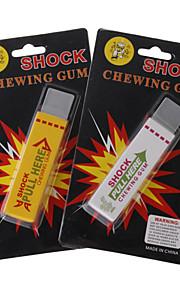 chok-din-ven elektrostatisk tyggegummier (assorteret 2-pack)