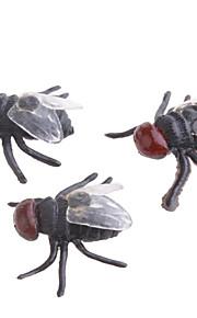 realistiske gummi fluer