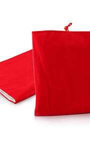 Protective Soft Cloth Pouch Case for iPad 1/2/3/4 and Others (Red)