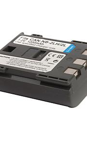 1200mAh camera batterij nb-2l/2lh voor Canon Elura 40mc en nog veel meer