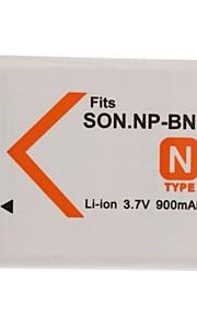 900mAh camera accu NP-BN1 voor Sony Cybershot DSC-W320, W350, W380
