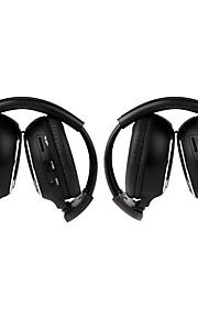 2 PCS Infrared Stereo Car Wireless Headphone IR-2011D