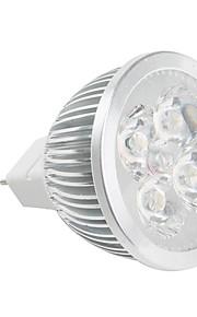 MR16 hvit 4-LED spotlight (48mm, 4W, 12V)