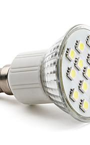 3W E14 / GU10 / E26/E27 LED-spotpærer MR16 15 SMD 5050 200 lm Varm hvit / Naturlig hvit AC 220-240 V