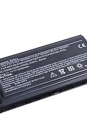 סוללה למחשב נייד ASUS F5 (11.1V, 4400mAh, שחור)