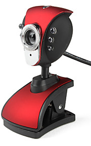Pheonix 6-LED 5,0 Megapixel USB 2.0 Clip-on PC Kamera Webcam mit Mikrofon