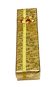 lureme®metal farve reflekterende materiale smykker gaveæske